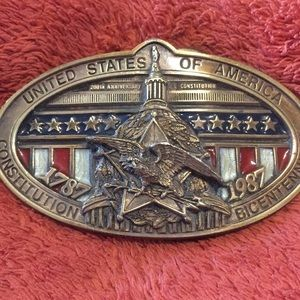 Limited edition Belt Buckle.